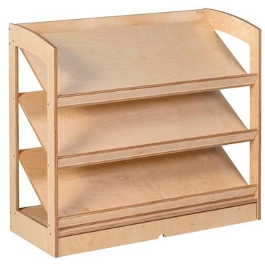 """Εικόνα της Βιβλιοθήκη ανοιχτή """"Montessori"""""""
