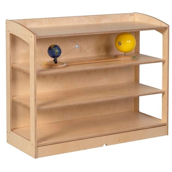 """Εικόνα της Ραφιέρα υλικών κλειστή """"Montessori"""""""
