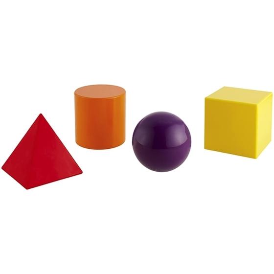 Εικόνα της Σετ 4 γεωμετρικά στερεά