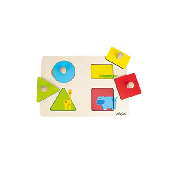"""Εικόνα της Σφηνώματα """"γεωμετρικών σχημάτων χρωμάτων"""""""