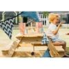 Εικόνα της Παιδικό τραπέζι πικ-νικ με ομπρέλα.