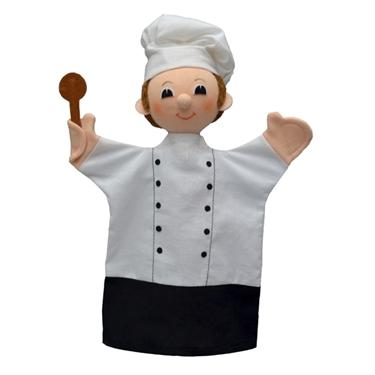 """Εικόνα της Γαντόκουκλα επαγγέλματα """"Μάγειρας"""""""