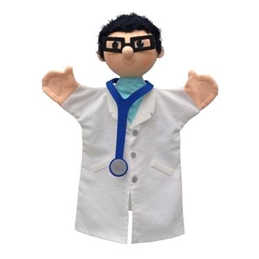 """Εικόνα της Γαντόκουκλα επαγγέλματα """"Γιατρός"""""""