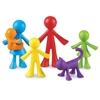Εικόνα της Πλαστική οικογένεια χαρακτήρων.