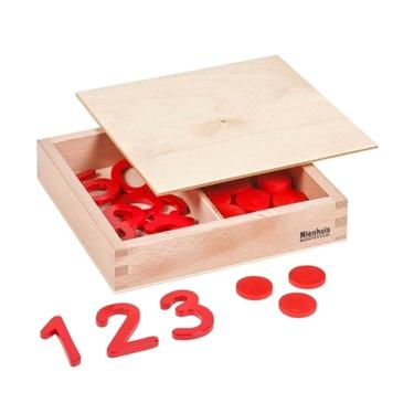 Εικόνα της Cut-Out Numerals And Counters
