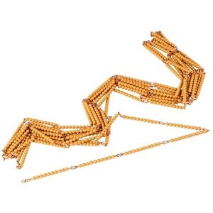 Εικόνα της Golden Bead Chain Of 1000: Individual Beads (Nylon)