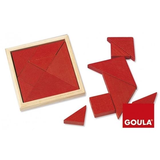 Εικόνα της Ατομικό ξύλινο tangram