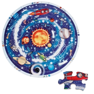 Εικόνα της Ξύλινο Παζλ Πλανήτες