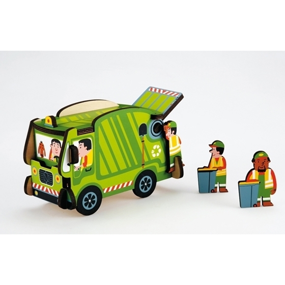Εικόνα της Όχημα Συλλογής Σκουπιδιών