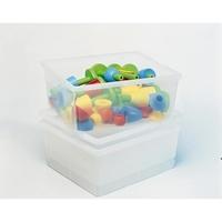 Εικόνα της Βαθιά διαφανή πλαστικά κουτιά.