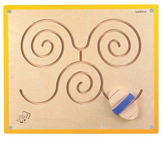 Εικόνα της Ξύλινο Παιχνίδι Τοίχου Πεταλούδα