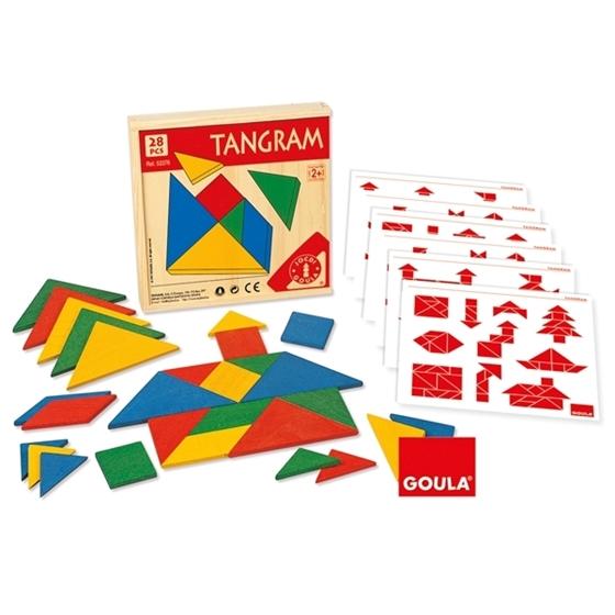 Εικόνα της Ξύλινο tangram
