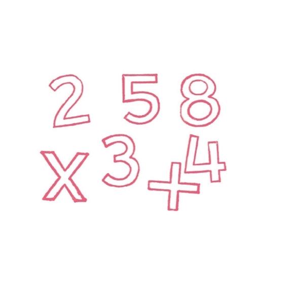 Εικόνα της Σφραγίδες Αριθμών 0-9