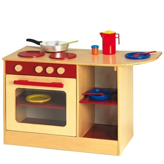 Εικόνα της Κουζίνα Plus Κόκκινη