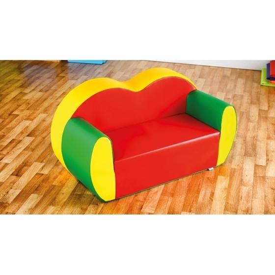 Εικόνα της Διθέσιος Χρωματιστός Καναπές