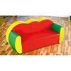 Εικόνα της Τριθέσιος Χρωματιστός Καναπές
