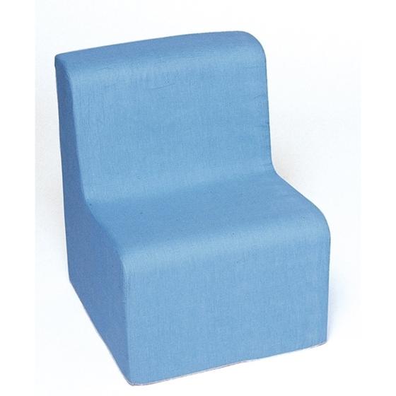 Εικόνα της Χαμηλή πολυθρόνα μπλε