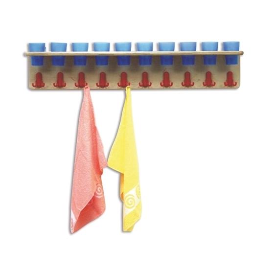 Εικόνα της Ξύλινη Κρεμάστρα 10 θέσεων