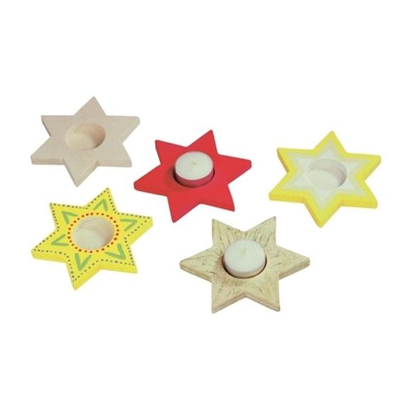 Εικόνα της Ξύλινο Αστέρι για Ρεσώ