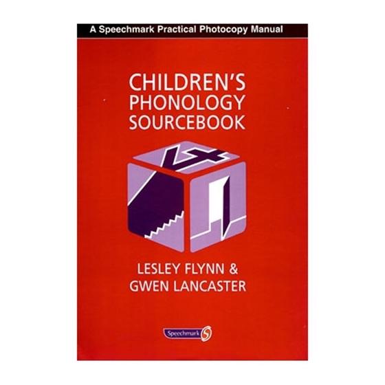 Εικόνα της Children's phonology sourcebook