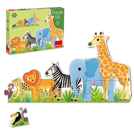 Εικόνα της XXL Puzzle Ζώα Ζούγκλας