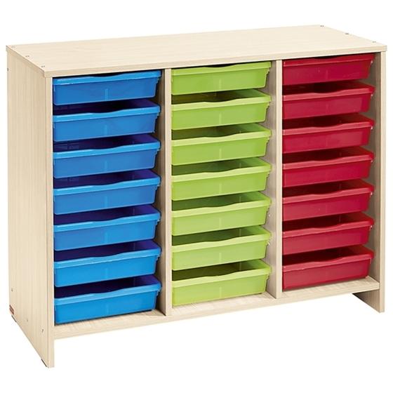 Εικόνα της Συρταριέρα με 21 Χρωματιστά Συρτάρια