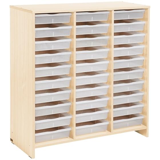 Εικόνα της Συρταριέρα με 30 Διαφανή Συρτάρια.