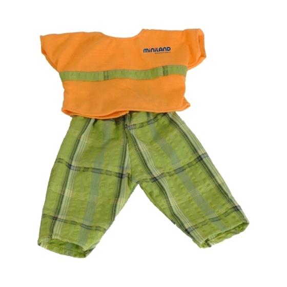 Εικόνα της Πορτοκαλί μπλουζάκι με παντελόνι