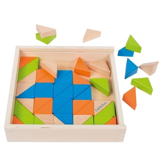 Εικόνα της Χρωματιστά Τρίγωνα-Μοτίβα