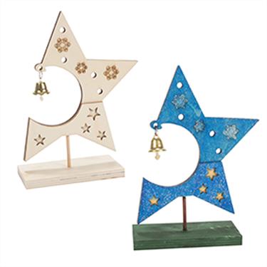 Εικόνα της Ξύλινο Διακοσμητικό Αστέρι