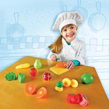 Εικόνα της Φρούτα&Λαχανικά που κόβονται σε φέτες