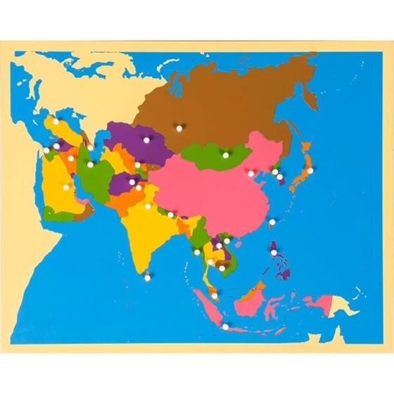 Εικόνα της Puzzle Map: Asia