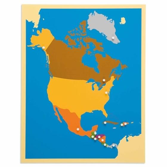 Εικόνα της Puzzle Map: North America