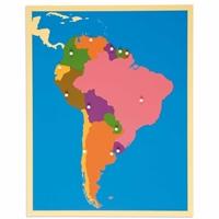 Εικόνα της Puzzle Map: South America