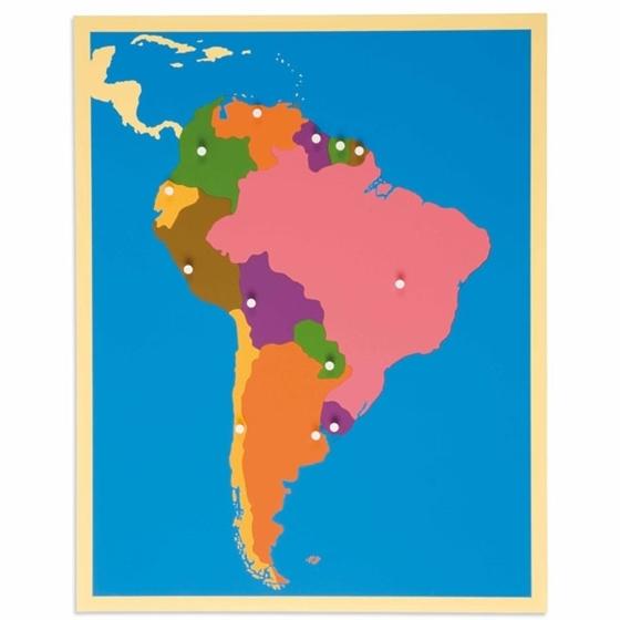 Εικόνα της Puzzle Map : South America