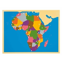 Εικόνα της Puzzle Map: Africa