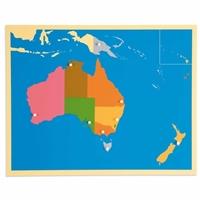Εικόνα της Puzzle Map: Australia