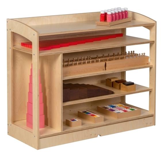 Εικόνα της Ραφιέρα με Πλάτη Montessori