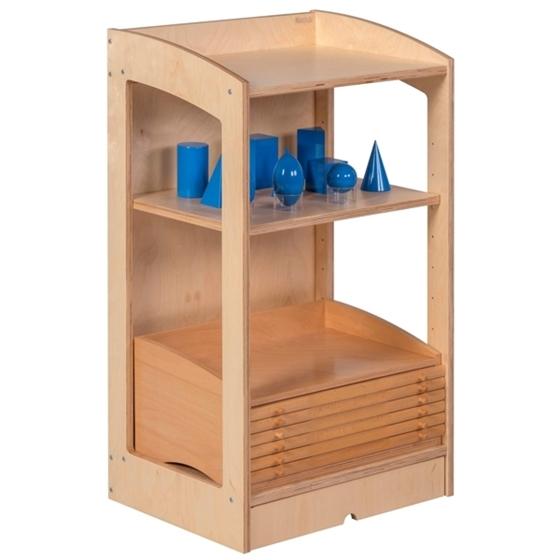 Εικόνα της Ραφιέρα Υλικών Γεωμετρίας & Βιολογίας Κλειστή Montessori