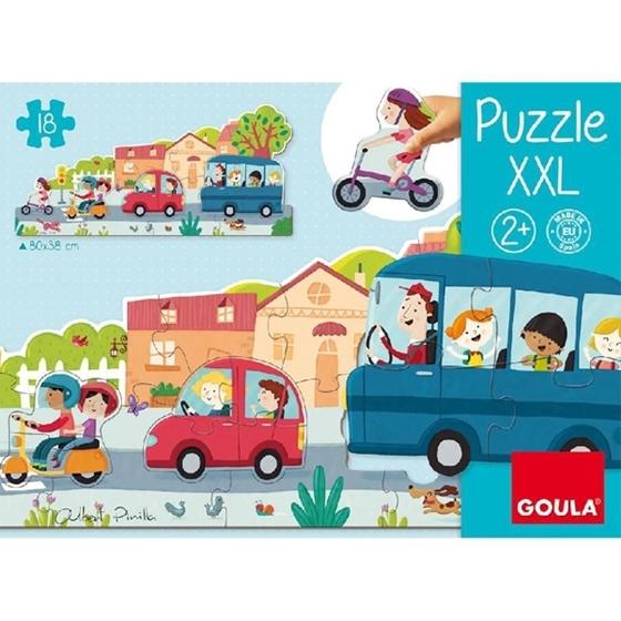 Εικόνα της XXL Puzzle Οχήματα