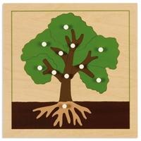 """Εικόνα της Παζλ βοτανικής """"Δέντρο"""""""