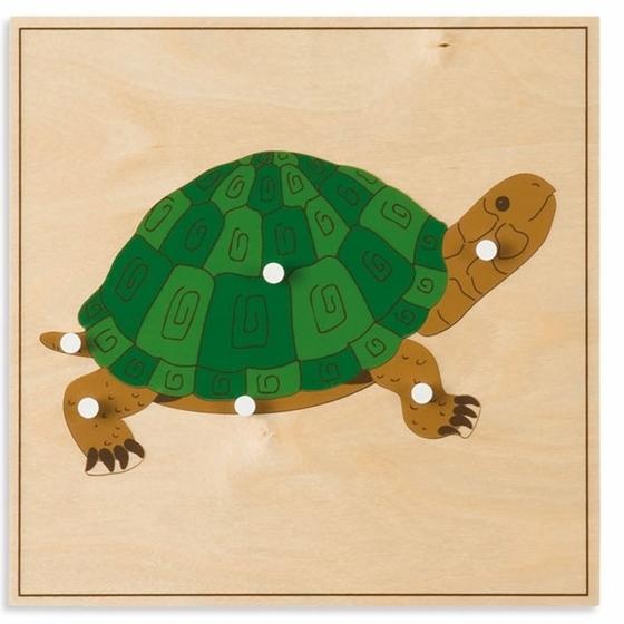"""Εικόνα της Παζλ ζώων """"Χελώνα"""""""