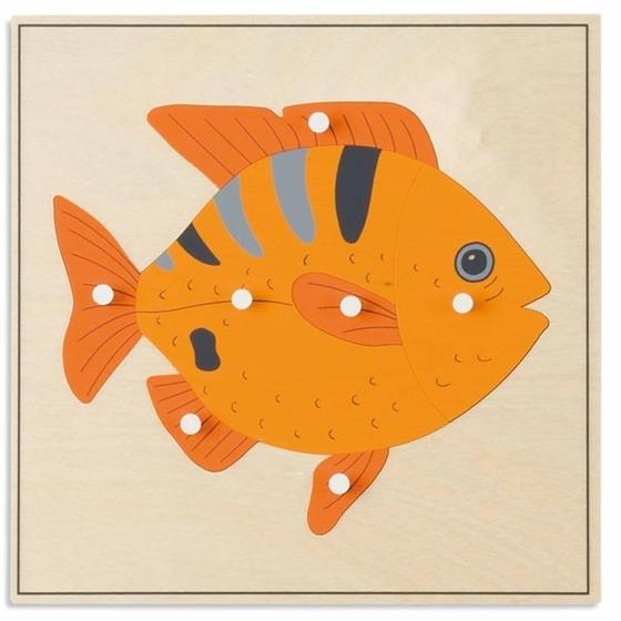 """Εικόνα της Παζλ ζώων """"Ψάρι"""""""