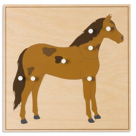 """Εικόνα της Παζλ ζώων """"Άλογο"""""""
