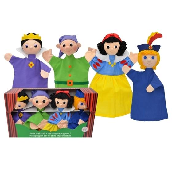 Εικόνα της Κούκλες κουκλοθεάτρου Χιονάτη