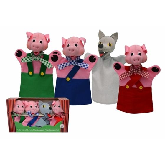 Εικόνα της Κούκλες κουκλοθεάτρου «3 Γουρουνάκια».