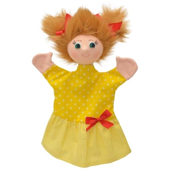 Εικόνα της Γαντόκουκλα Κοριτσάκι με κοτσιδάκια