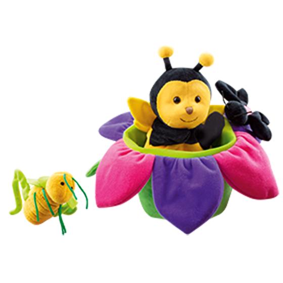 Εικόνα της Γαντόκουκλα Η Μέλισσα και οι φίλοι της