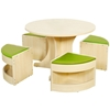 Εικόνα της Κυκλικό τραπέζι με καθίσματα