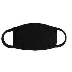 Εικόνα της Υφασμάτινη μάσκα προσώπου ενηλίκων Μαύρη